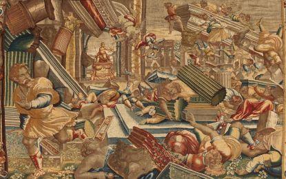 Studio ESSECI - I MAGNIFICI INTRECCI. La Forza di Sansone negli arazzi della Cattedrale di Cremona
