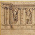 Studio ESSECI - L'Italia riconquista uno dei capolavori del proprio Rinascimento: da Londra a Vicenza un prezioso foglio del mago del disegno di architettura, Baldassarre Peruzzi.