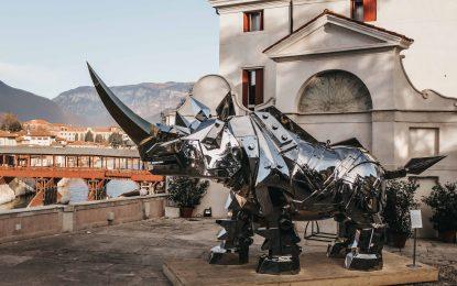 """Studio ESSECI - Il """"King Kong Rhino"""" di Li-Jen Shih esposto a Bassano"""